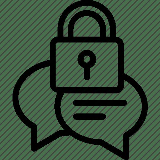 Confidential talk, message lock chat, secret chat, secure