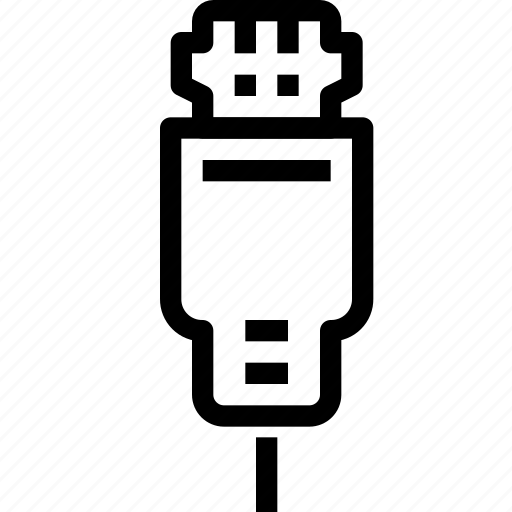 Adapter, cable, computer, connector, device, hardware icon
