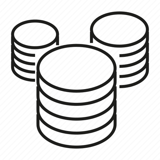 Data, database, hosting, save, server icon