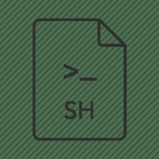.sh, .sh file, bash shell, bash shell file, bash shell