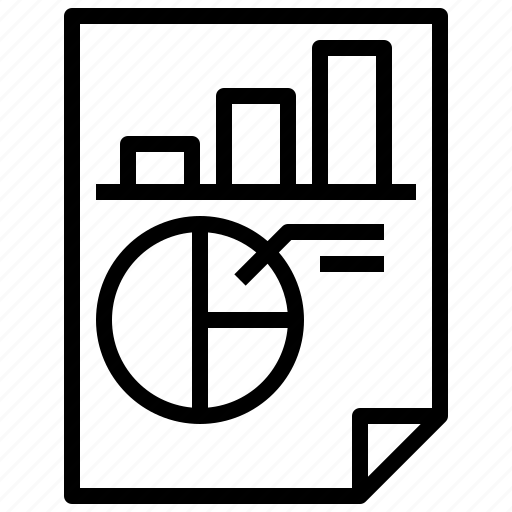 Analytics, business, chart, report, statistics icon