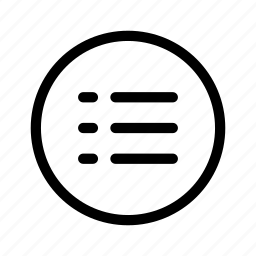 Browser, list, lists, menu, nav, navigation, web icon
