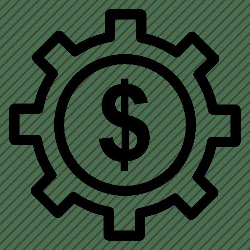 Control, dollar, gear, options, repair, setting, system