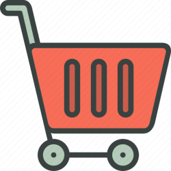 shopping cart icon bag groceries empty ecommerce icons transparent 512px
