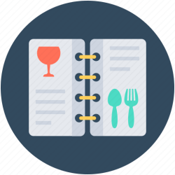 food menu icon card cuisine icons 512px 24px 32px