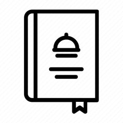 menu icon restaurant food folders choose print icons editor open
