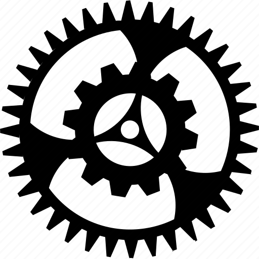 gears simplistic by designers