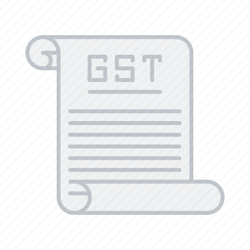 Bill, document, gst, law, rate, tax icon