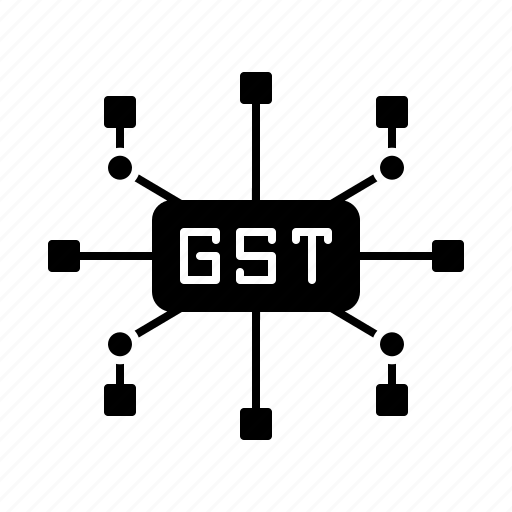 Different, gst, rate, sector, slab, tax icon