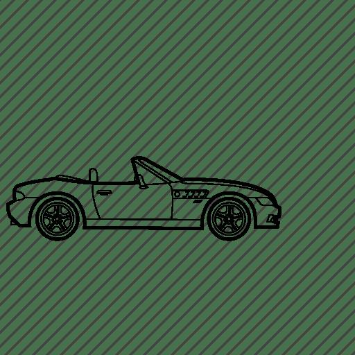Auto, bmw, car, james bond, z3 icon