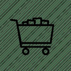 icon cart stuff shopping icons editor open