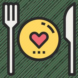 Diet favorite food healthy meal restaurant icon Download on Iconfinder