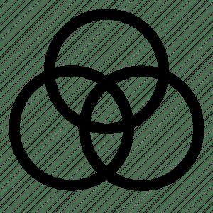 Diagrams, venn, venn diagrams icon