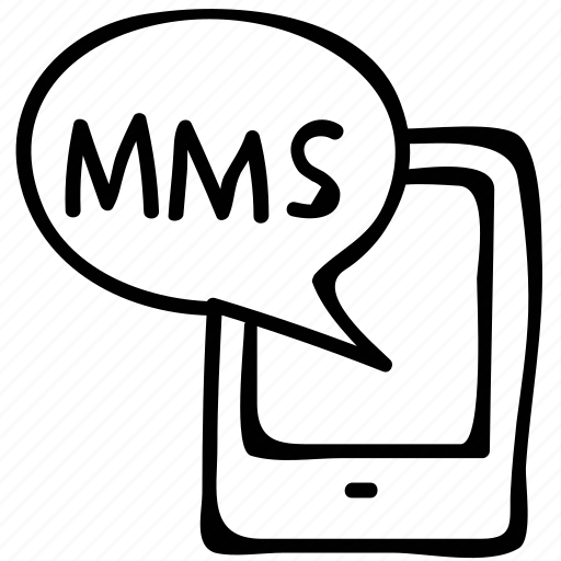 Messaging by mobile, mms, mms by mobile, uri icon