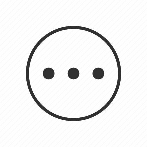 Circle, details, more, more details, more options, options