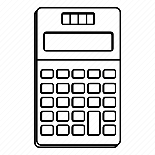 Calculation, calculator, calculus, finance, math icon