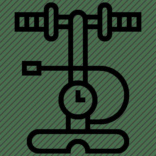 Air, hand, manual, pressure, pump icon