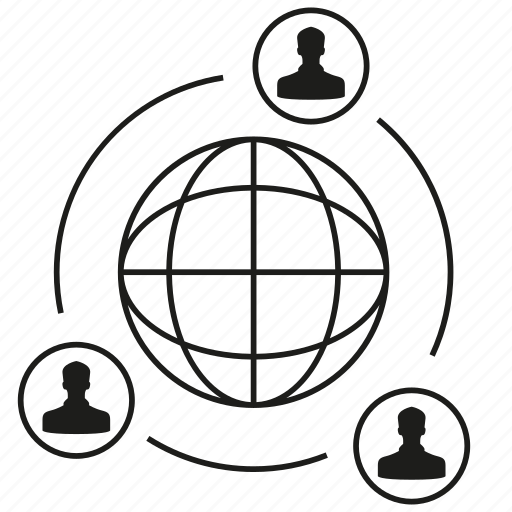 Connection, global, globe, network, people, social media