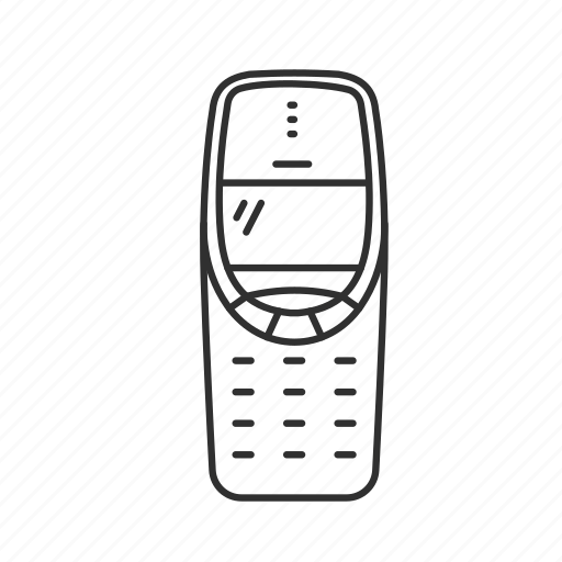Call, classic phone, message, nokia, nokia 3310, old phone