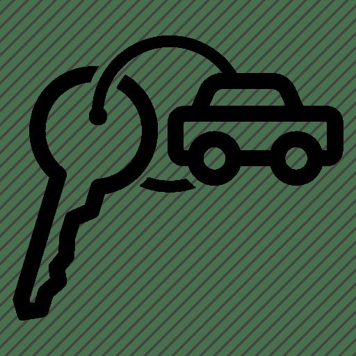 Car, key, keys, owner, rent, rental, renting icon