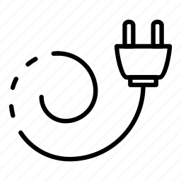 Electricity, logo, socket, technology, texture, tripled