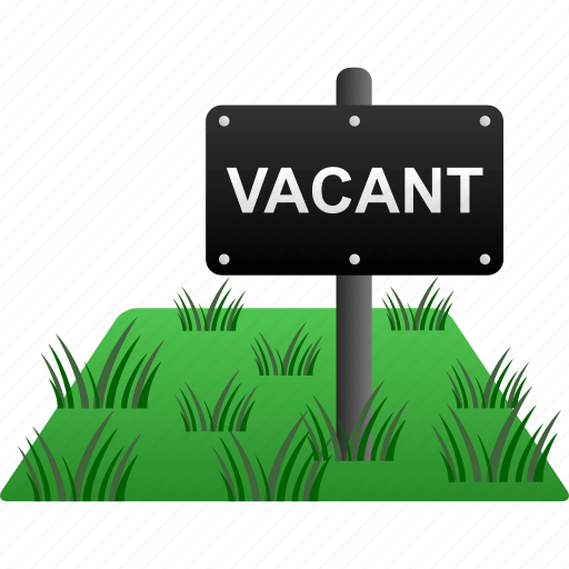 House land property real estate sign vacant icon