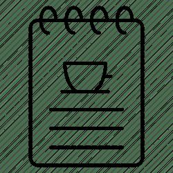 Cafe food food menu list menu restaurant tea icon Download on Iconfinder
