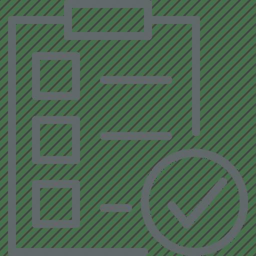Business, checklist, clipboard, document, questionnaire icon