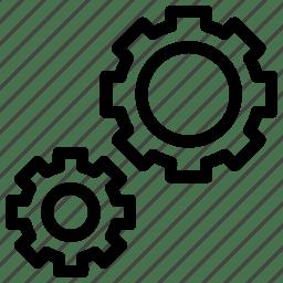 Configuration, gears, options, repair, settings, setup
