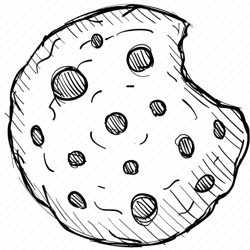 Bite, chocolate, cookie, dessert, food, meal, snack icon