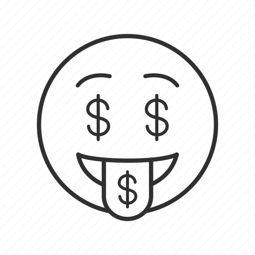 Dollars, greedy, greedy face, money, money face, money