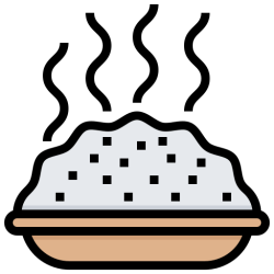 rice food icon menu icons dish cook editor open street flaticon
