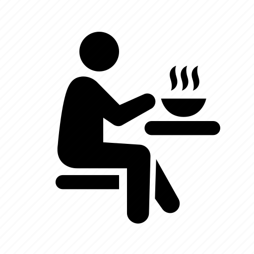 Man Eating Food Clip Art
