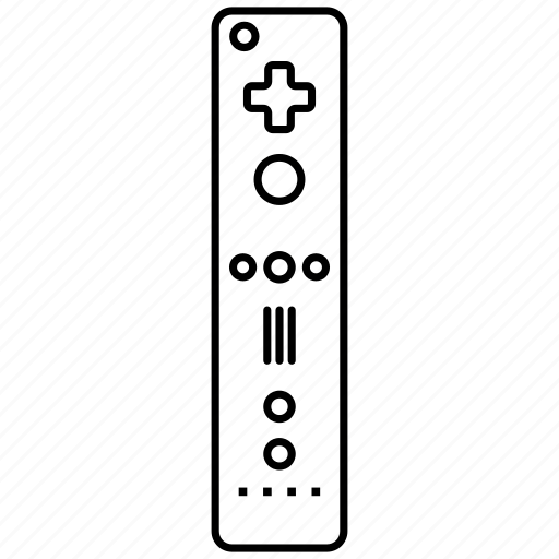 Console, controller, nintendo, remote, video games, wii icon