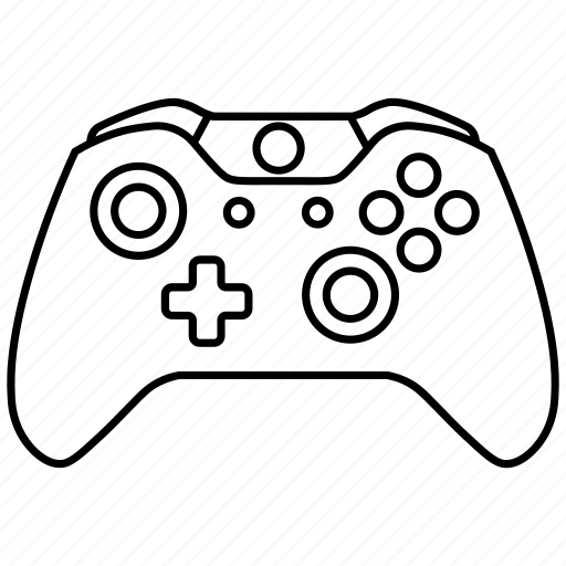 Console, controller, microsoft, one, video games, xbox icon