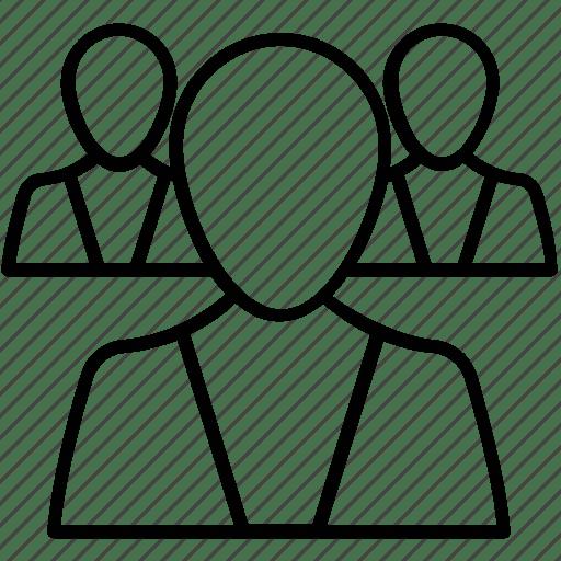 Advancement, career, group, progress, promotion icon