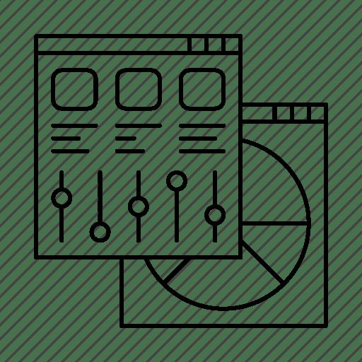 Coding, development, grid, mobile, programming, settings