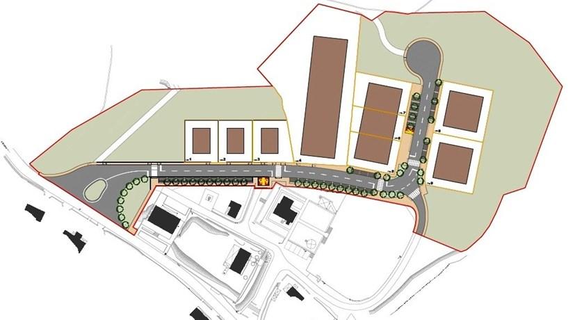 O Parque Empresarial de Álvora vai ter nove lotes numa área de 2,5 hectares, ligando à EN 101 através da EM 505.