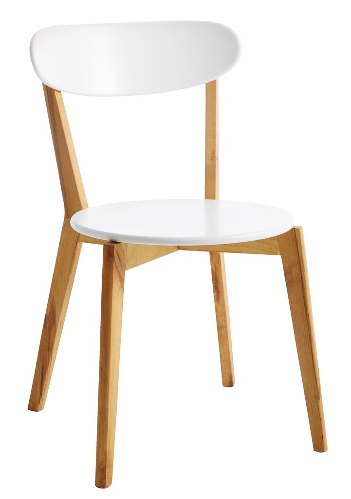 oak and white dining chairs black nz chair jegind jysk