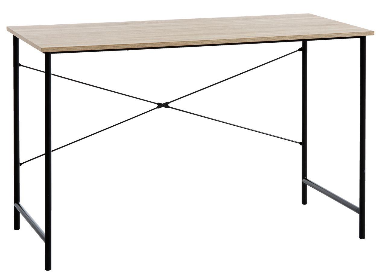 desk chair jysk chiropractic wobble benefits vandborg 60x120 cm oak black