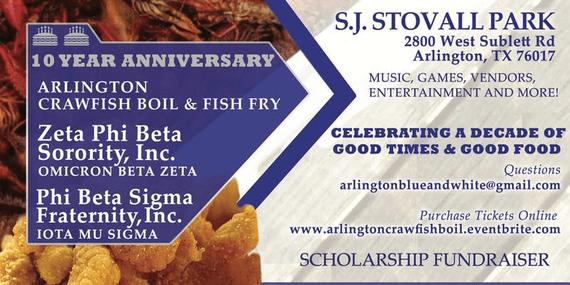 10th annual arlington crawfish