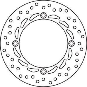 BREMBO-REMSCHIJF 68B407A5 V+A,256 MM,VAST,M. ABE kopen