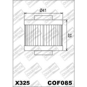 Buy CHAMPION OILFILTER COF085 DIVERSE APRILIA (X325