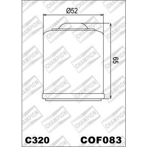 Buy CHAMPION OILFILTER COF083 DIVERSE MODELLE (C320