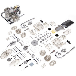 Buy BMW Flat-twin engine R 90 S 200 part kit, scale 1:2