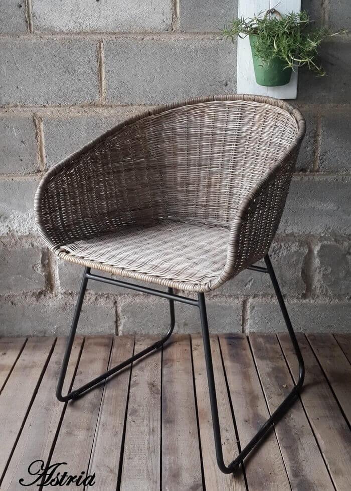 astrid fauteuil en rotin