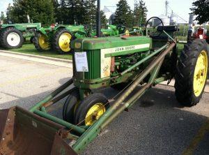 1956 John Deere 520 W45 Loader | S124 | Gone Farmin' Summer 2011