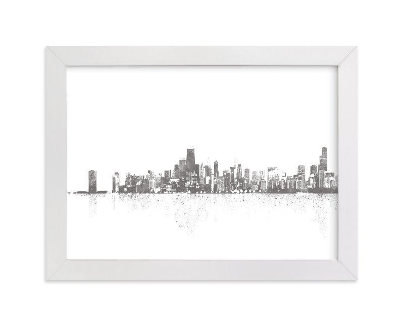 chicago skyline graphic limited
