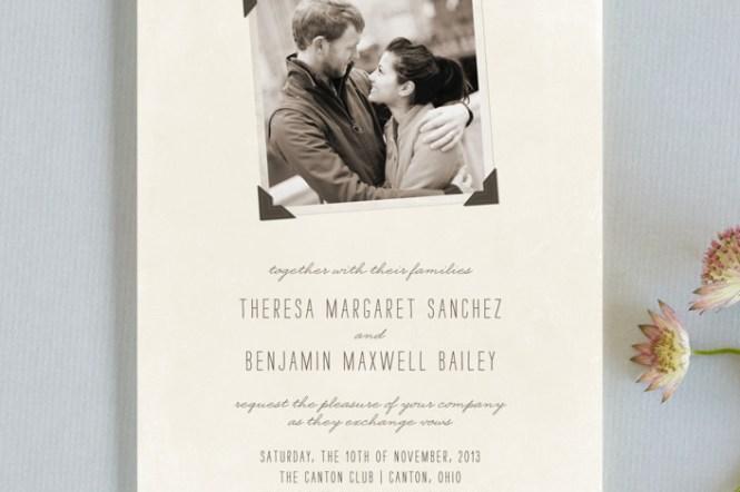 Chantilly Lace Wedding Invitationwording