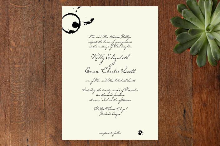 Classic Inkwell Wedding Invitations